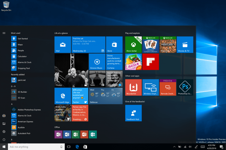 Переустановка Windows 10