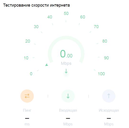 Сервис замера скорости интернета