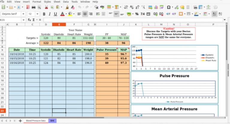Аналог электронных таблиц Excel